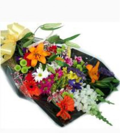 Garden Mix Wrapped - Variety of Fresh Seasonal Colorful Blooms $39.99 Most popular $59.99